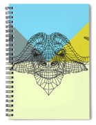 Party Buffalo Mesh Spiral Notebook
