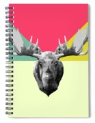 Party Moose Spiral Notebook