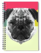 Party Pug Spiral Notebook