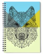 Party Wolf Spiral Notebook