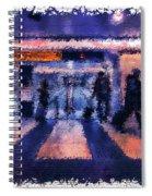 Passengers #3 Spiral Notebook