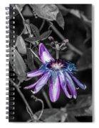 Passion Flower Only Alt Spiral Notebook