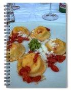 Pasta Spiral Notebook