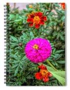 Pastel Wild Flowers Spiral Notebook