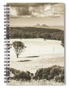 Pastoral Plains Spiral Notebook