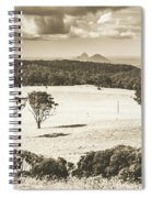 Pastoral Plains Spiral Notebook