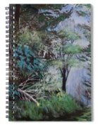 Path Thru The Woods Spiral Notebook
