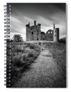Path To Kilchurn Castle Spiral Notebook