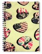 Patriotic Picks Spiral Notebook