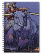 Paul Bunyan And Babe  Spiral Notebook