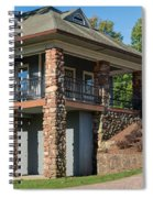 Pavilion At Hubbard Spiral Notebook
