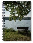 Peaceful Bench Spiral Notebook