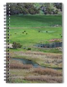 Peaceful Farm In Durango Spiral Notebook
