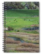 Peaceful Farm Spiral Notebook