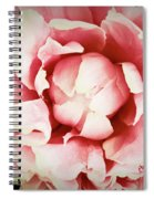 Peach Peony Spiral Notebook