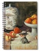 Peach Warbler Spiral Notebook