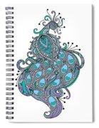 Peacock 1 Spiral Notebook