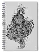 Peacock 10 Spiral Notebook
