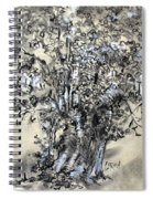Pear Tree And Pickets Spiral Notebook
