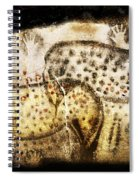 Pech Merle Horses And Hands Spiral Notebook