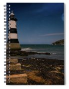 Penmon Lighthouse And Puffin Island Spiral Notebook