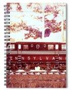 Pennsylvania Winter, Gg1 Spiral Notebook