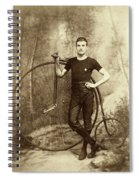 Penny Farthing - High Wheel - Ordinary   Spiral Notebook