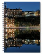 Perfect Sodermalm Blue Hour Reflection Spiral Notebook
