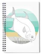 Permit  Spiral Notebook