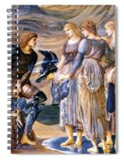 Perseus And The Sea Nymphs 1877 Spiral Notebook