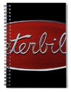 Peterbilt Emblem Black Spiral Notebook