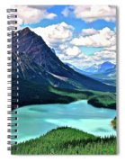 Peyto In August Spiral Notebook