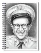 Phil Silvers As Sgt Bilko Spiral Notebook