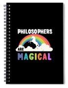 Philosophers Are Magical Spiral Notebook