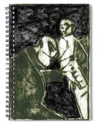 Pianist At The Piano Spiral Notebook