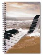 Piano Fantasy Spiral Notebook