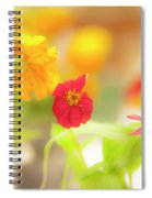 Pick Me Up Flowers Spiral Notebook