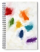 Piece Of The Rainbow- Art By Linda Woods Spiral Notebook
