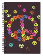 Pieces Of Peace Spiral Notebook