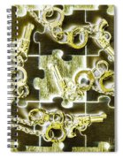 Piecing Puzzles Of A Crime Spiral Notebook