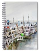 Piers To Be Cold Spiral Notebook