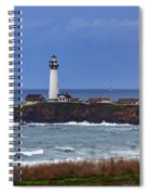 Pigeon Point Light Station In San Mateo County Ca Spiral Notebook