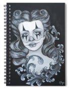 Pin Up Filigree Spiral Notebook