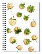 Pineberries Hybrid  Spiral Notebook