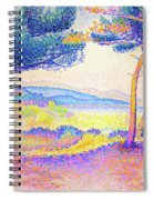 Pines Along The Shore - Digital Remastered Edition Spiral Notebook