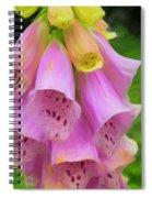 Pink Bells Spiral Notebook