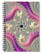 Pink Choreography Spiral Notebook