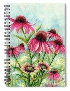 Pink Coneflowers Spiral Notebook