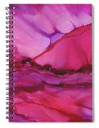 Pink Light Of Dawn Spiral Notebook