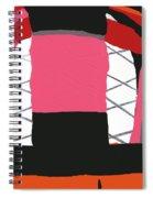 Pink Orange Spiral Notebook